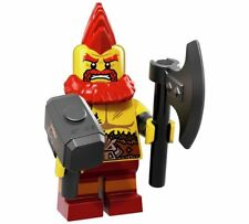 Lego Mini Figure Series 17 71018 - Battle Dwarf - New Unopened
