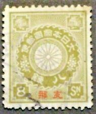 1900   Japan PO in China  8s  Olive-Green  CHAN FJ12  -  Used  CV $67