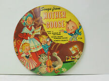 Unknown Artist 78 (picture disc) Songs From Mother Goose   Toy Toon G