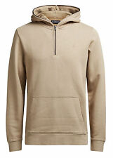 Jack & Jones Men's Jorcampaign Sweat Hood Sports Hoodie Brown Tigers Eye Large