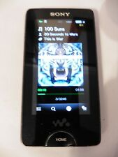 RARE Sony NWZ-X1050 16GB noise cancelling Mp3 Player - Black WORKING Free uk P&P