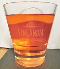"FINLANDIA   VODKA OF FINLAND  WITH REINDEER LOGO   3 3/4"" TALL   6 OZ"