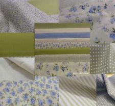 Telas y tejidos color principal azul de tela por metros de 100% algodón para costura y mercería