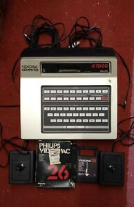 Vintage Philips Videopac G7000 Computer +1 Game
