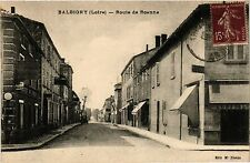 CPA   Balbigny (Loire) - Route de Roanne    (359926)