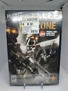Killzone Circuit City Presell Demo Disc Not For Resale Playstation 2 PS2 SEALED