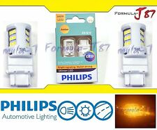 OpenBox Philips Ultinon LED Light Bulb 3457 Amber Orange Turn Signal Side Marker