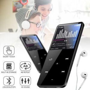 8GB Bluetooth MP4 Media MP3 Player FM Radio Recorder Sport Music Speaker UK