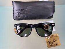 Vintage 1980's Ray-Ban Wayfarer II, L1724 Sunglasses New in Original Packaging