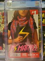 Ms. Marvel #1 CGC 9.6 Kamala Khan becomes the new Ms. Marvel