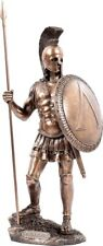 Spartan Warrior Cold Cast Bronze Statue / Sculpture 36cm / 14.14inches