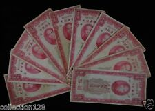 New listing 10 Pieces China Customs Gold Unit 100 Yuan 1930
