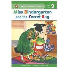 Miss Bindergarten and the Secret Bag (Penguin Young Readers, Level 2) - New - Sl