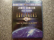 (James Cameron)Explorers:From the Titanic to the Moon (Two -Disc Blu Ray / Dvd C
