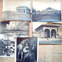 1900 LOTTO FOTOGRAFIE ARTISTICHE CON ROVINE ANIMATE