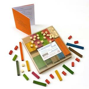 ARITHMETIC! 136 Wooden CUISENAIRE Rods  for PRIMARY SCHOOL KIDS. Australian made
