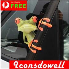 3D Peep Frog Funny Car Van Truck Window Stickers Decals Gifts Presents