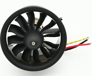 Change Sun 64mm Ducted Fan 12 Blades with EDF 3s 3200KV motor