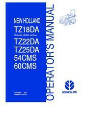 NEW HOLLAND TZ18DA HB20001~TZ22DA TZ25DA TRACTOR 54CMS 60CMS MR DECKS OPERATORS