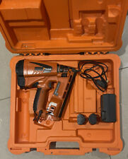 PASLODE IM65A F16 Lithium CORDLESS GAS NAIL GUN 2ND FIX Angled 2 Batteries