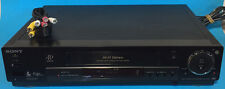 Sony SLV-M91HF VHS VCR  Player and  Recorder / Video Cassette Player