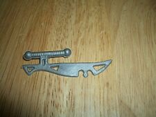 """VINTAGE ACTION MILITARY FIGURE MARTIAL ARTS KNIFE - 1980s - SIZE: 2 1/4""""-VG COND"""