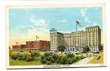 Vintage Postcard CHICAGO HOTEL WINDEMERE Hyde Park