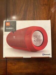 JBL Charge 2 Portable Bluetooth Speaker  White