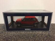 Renault 5 R5 SuperCinq GT Turbo Ph I Red 1:18 Norev rot Alpine neu New