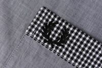 Fred Perry Slim Fit Classic Short Sleeve Shirt Size M