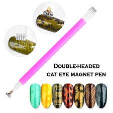 Magic 3D Magnetic Nail Art Cat Magnet Pen Cats Eyes UV Gel Polish Brush DIY Tool