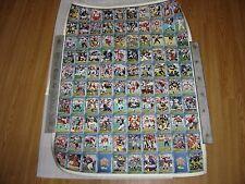 1993 Classic Football Draft Pick Uncut Sheet - Limited Edition 1591/4000