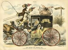 COACHMAN WHITELAW REID TWO IN HAND STAGECOACH JAMES BLAINE REPUBLICAN CONVENTION