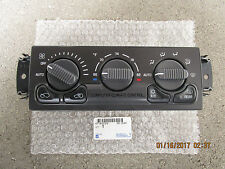 99 - 02 CHEVY BLAZER A/C HEATER CLIMATE TEMPERATURE CONTROL OEM NEW P/N 15756179