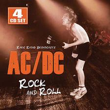 AC/DC New Sealed 2017 LIVE 1970s & 80s CONCERTS 4 CD BOXSET