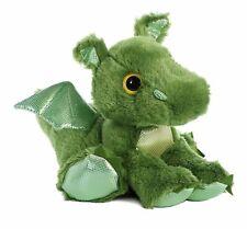 "Roar Green Dragon Official  Aurora Sparkle 12"" Cuddly Soft Plush Toy Brand New"