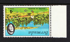 BERMUDA 1971 4c GOLFING WITH WMK CROWN TO RIGHT OF CA SG 279w MNH.