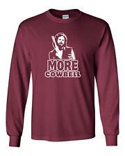 156 I need more Cowbell Long Sleeve Shirt funny snl skit walken new humor 90s