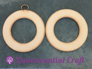 Wooden MDF Circular Make Your Own Christmas Wreath Blank Craft