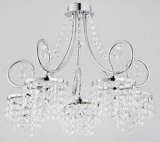 ALFA-DIANA NEW 17695-Lampadario di cristallo moderno-LAMPADA SOFFITTO DI LUSSO