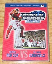 Major League Baseball 2004 World Series (DVD, 2004) Boston Red Sox St. Louis NEW