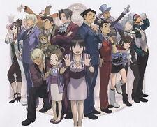 "031 Phoenix Wright Ace Attorney - Gyakuten Saiban Yomigaeru 17""x14"" Poster"