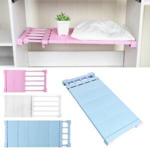 Extendable Divider Shelf Cabinet Storage Cupboard Adjustable Closet Organizer UK