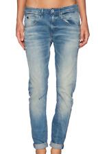 G Star Arc 3D Low Tapered Boyfriend Jeans Blue Denim Wash Mens 26W 32L *REF25-15