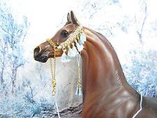 HW37 - LSQ Braided Arabian Halter for a Peter Stone, similar size Model Horses