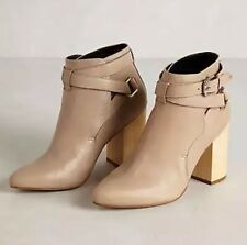 NEW Anthropologie $350 Pied Juste Tula Booties Size 38