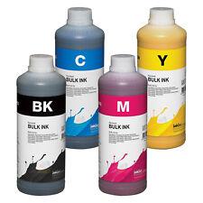 InkTec Tinte pig. black, CMY für HP 337 343  - 4x 1 Liter für HP Officejet K7100