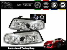 FARI ANTERIORI HEADLIGHTS LPAU33 AUDI A4 1994 1995 1996 1997 1998 ANGEL EYES