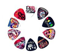 Legendary Bands Guitar Picks Volume II(10 medium picks in a packet)