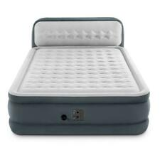 Intex 64447EP Queen Ultra Plush Dura Beam Deluxe Airbed with Built in Pump